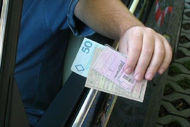 Kierowca najpierw dał łapówkę o potem powiadomił policję /INTERIA.PL