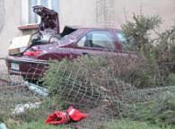 Kierowca stracił panowanie nad autem /RMF