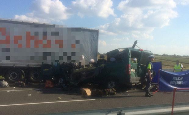 Kierowca ukraińskiego busa z zarzutem. To on miał spowodować wypadek, w którym zginęło 5 osób