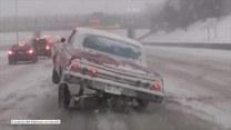 Kierowca urozmaicił sobie drogę na autostradzie