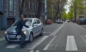 Kierowco! Nie wpuszczaj pieszych na przejście!
