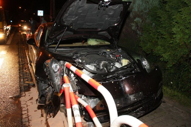 Kierowcy nic się nie stało / Fot: ratownictwo.opole.pl /