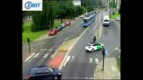 Kierowcy nie lubią tego pylonu...