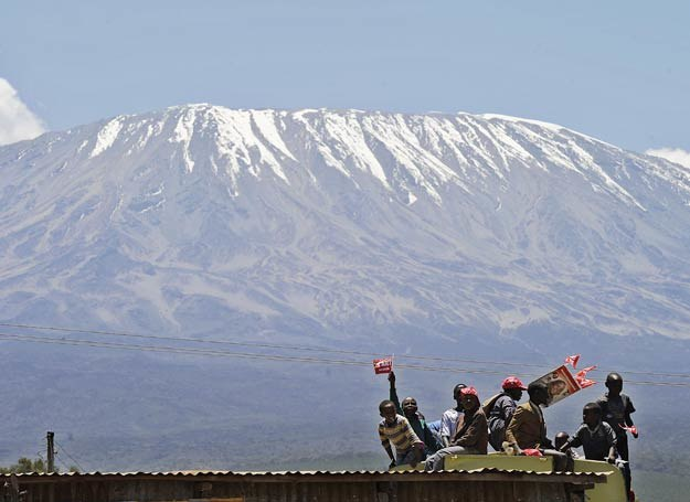 Kilimandżaro /AFP