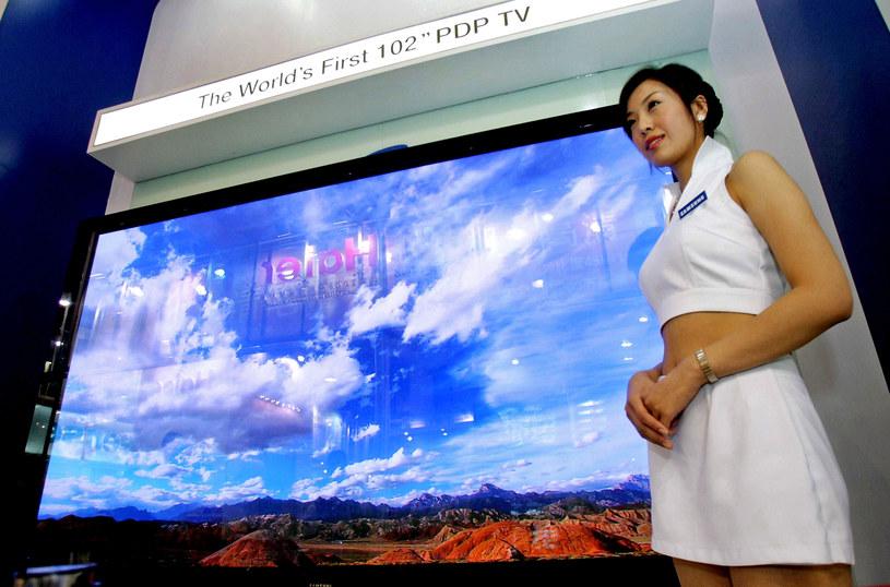 Kilka lat temu plazma była tak popularna jak LCD - ta druga technologia wygrała jednak bitwę o gospodarstwa domowe (niekoniecznie jakością) /AFP