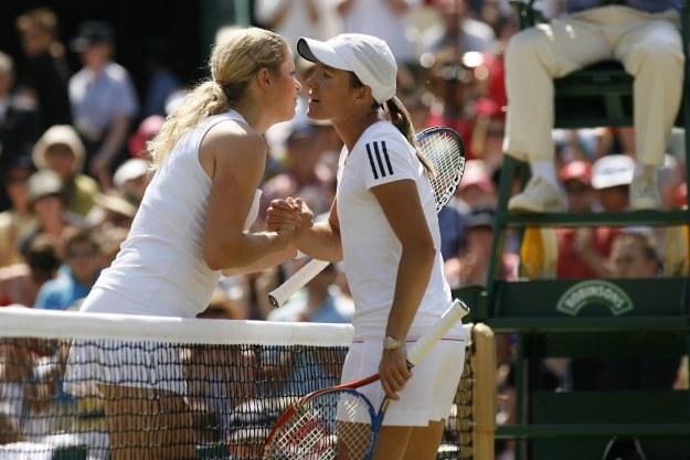 Kim Clijsters i Justine Henin /AFP