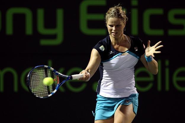 Kim Clijsters (na zdjęciu) odpadła z turnieju WTA w Miami po porażce z Wiktorią Azarenką /AFP