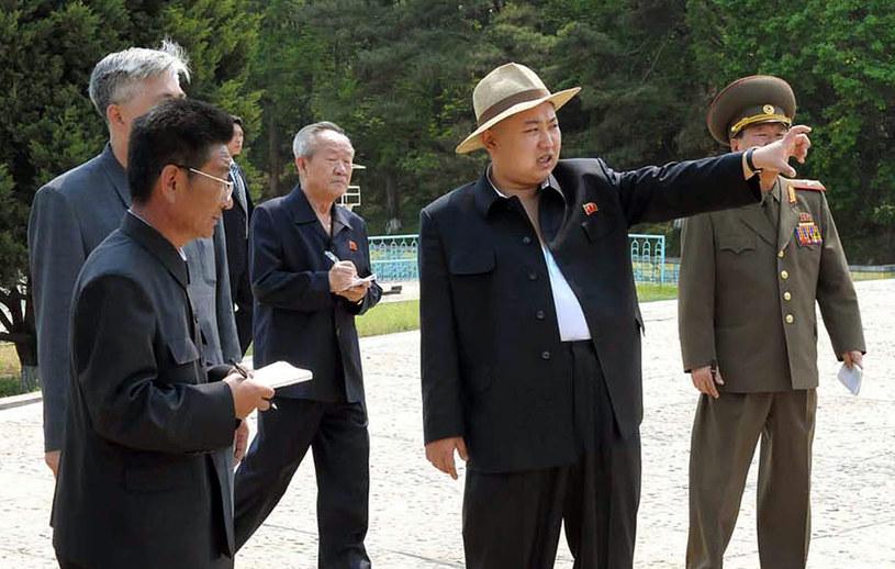 Kim Dzong Un na archiwalnym zdjęciu z maja 2012 roku /AFP