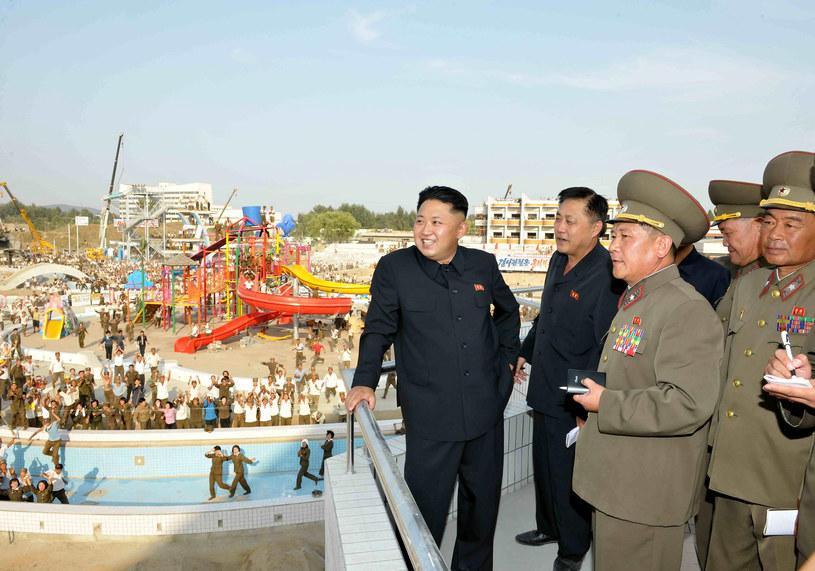 Kim Dzong Un, przywódca Korei Płn. /AFP