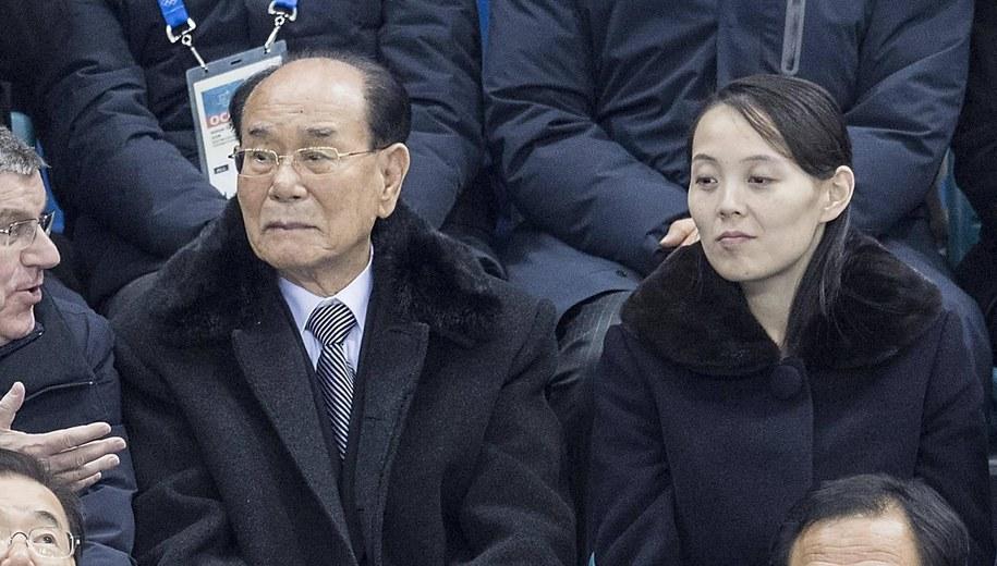 Kim Jo Dzong (po lewej) /Anke Waelischmiller/SVEN SIMON /PAP/EPA