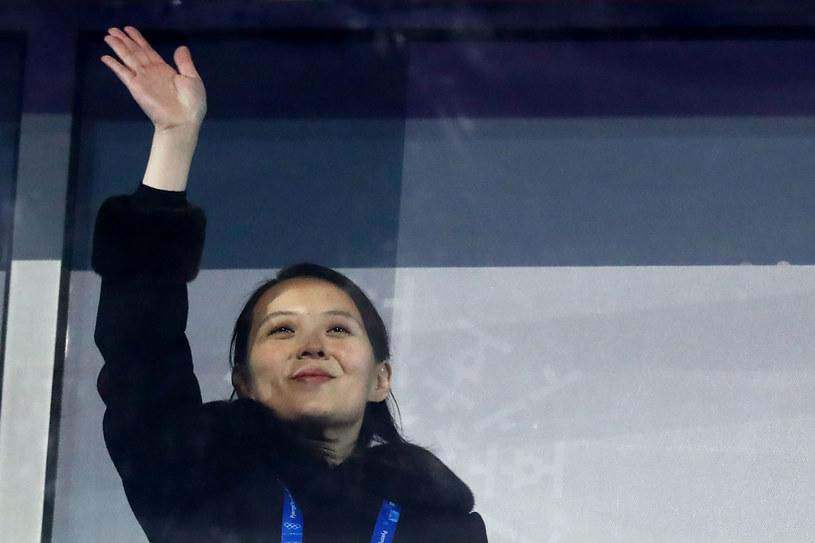 Kim Jo Dzong podczas Zimowych Igrzysk Olimpijskich w Pjongczangu /ODD ANDERSEN /AFP