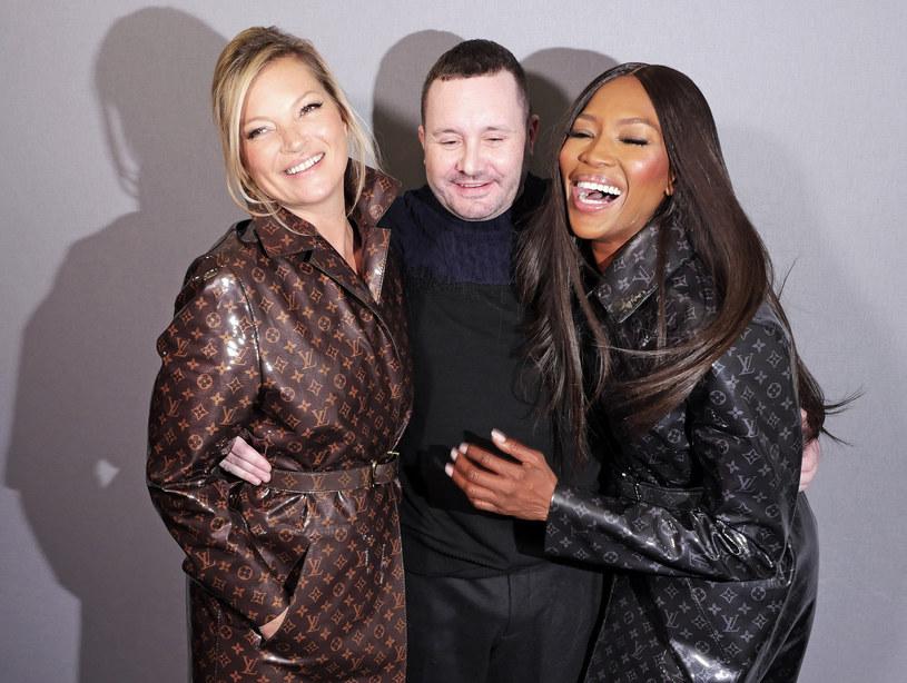 Kim Jones postanowił na finał pokazu zaoferować coś niezwykłego. Zaprosił więc dwie najbardziej charakterystyczne modelki lat 90 /East News