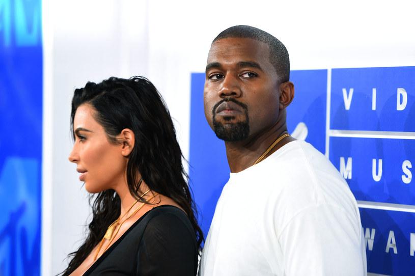 Kim Karadshian i Kanye West /Getty Images