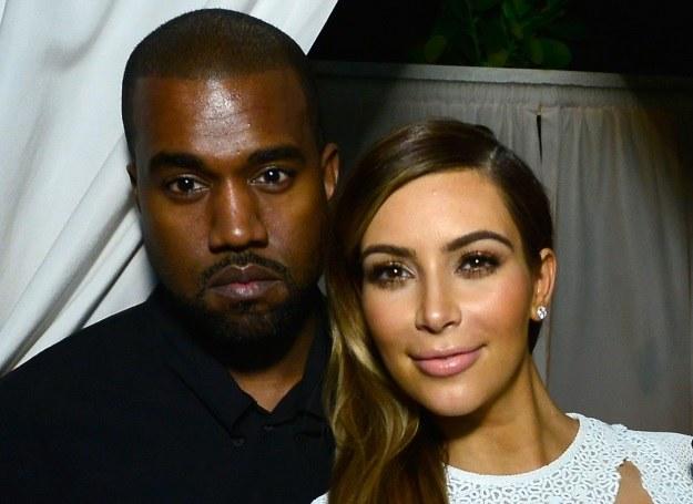 Kim Kardashian i Kanye West /Getty Images