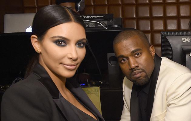 Kim Kardashian i Kanye West /Dimitrios Kambouris /Getty Images