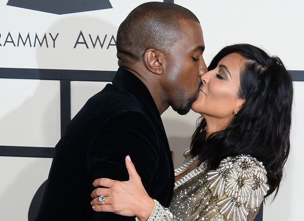 Kim Kardashian i Kanye West /UPI Photo / eyevine /East News