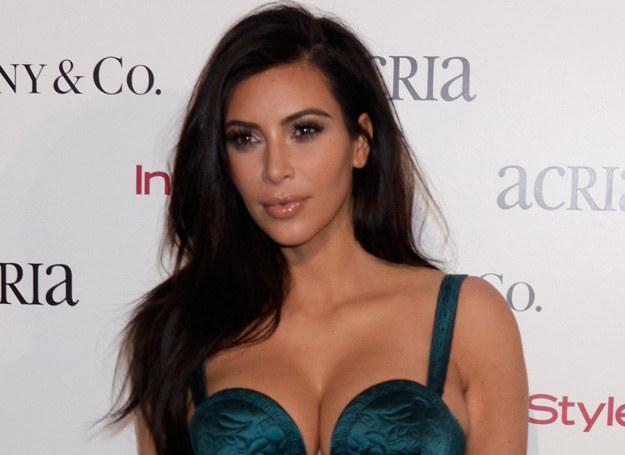 Kim Kardashian w ciaży przytyła 30 kg /Getty Images