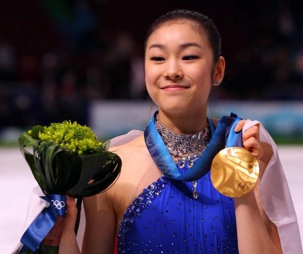 Kim Yu-Na zarobiła na igrzyskach krocie/Fot. Cameron Spencer /Getty Images/Flash Press Media