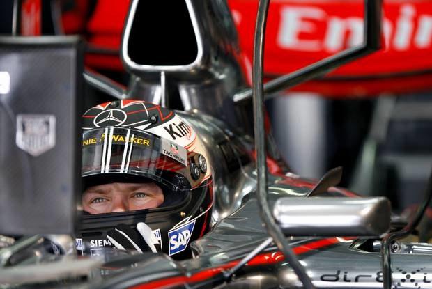 Kimi Raikkonen / Kliknij /AFP