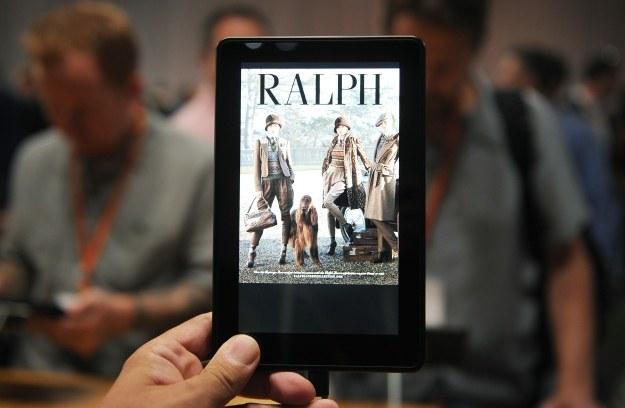 Kindle Fire HD - Ten tablet to duży sukces w Stanach Zjednoczonych. Ale czy to dobry zakup dla Polaków? /AFP