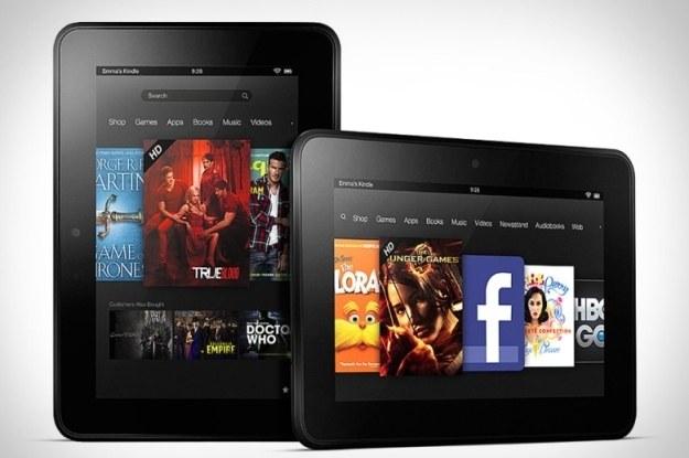 Kindle Fire HD /materiały prasowe
