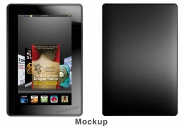 Kindle Fire - wizualizacja jednego z fanów, czy nowy Kindle będzie wyglądał właśnie tak? /tabletowo.pl