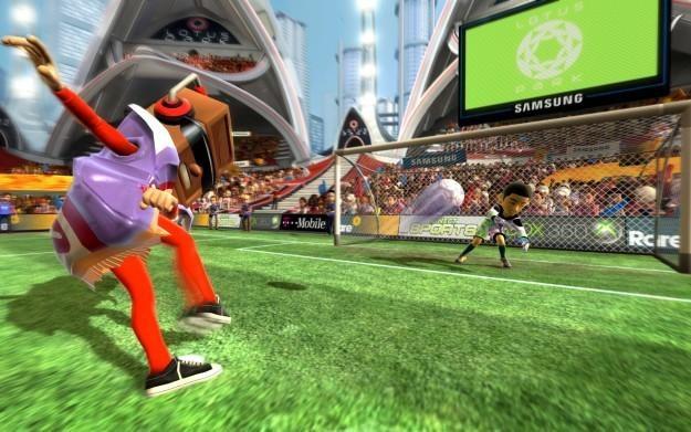 Kinect Sports: Calorie Challenge - motyw graficzny /Informacja prasowa