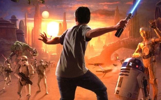 Kinect Star Wars /materiały prasowe