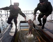 Kirginstan: Tak prawosławni obchodzą święto Objawienia Pańskiego