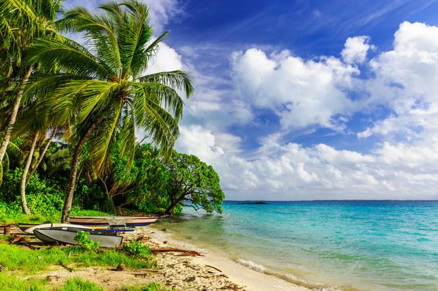 Kiribati słynie z bajecznych plaż /123/RF PICSEL