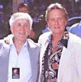 Kirk i Michael Douglas /Archiwum