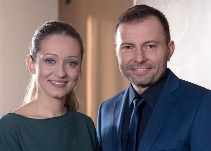 """""""Klan"""": Borecki straci głowę dla nowej niani Agatki? /Agencja W. Impact"""