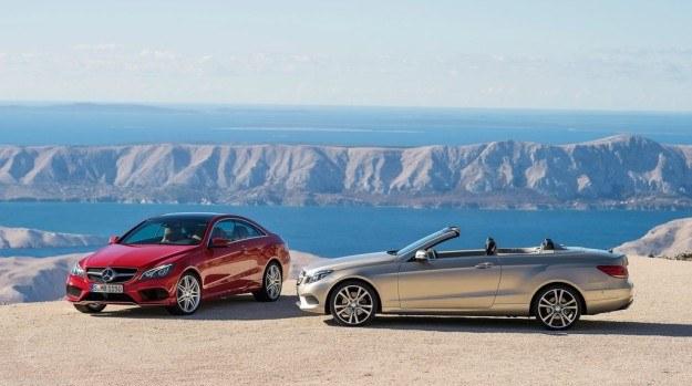 Klasa E Coupé ma oznaczenie C212, a Cabriolet - A212. /Mercedes