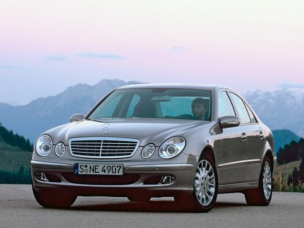 Klasa E: problem SBC dotyczy aut z lat 2002-2006. /Mercedes