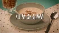 Klasyczna zupa serowa z grzankami