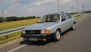 Klasyczne Audi 100 - tańsza konkurencja BMW i Mercedesa
