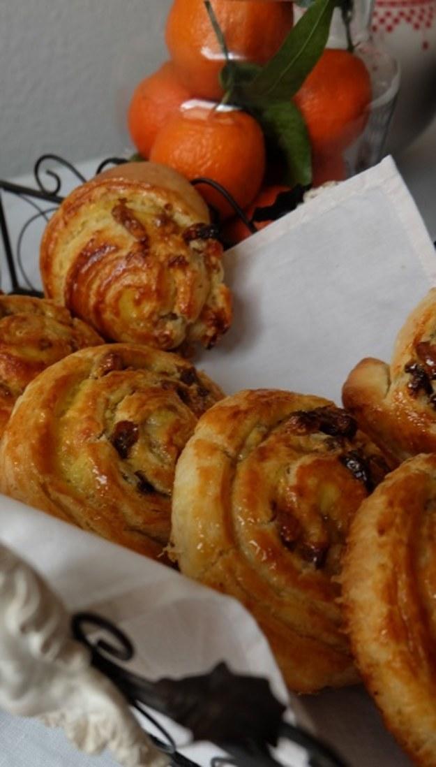 Klasyka francuskiego cukiernictwa – ślimaki z rodzynkami i z orzechami, Christophe Felder
