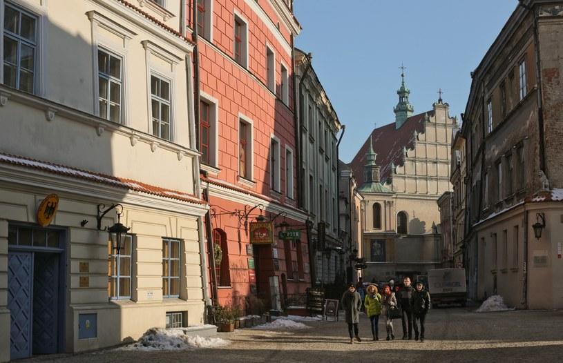 Klasztor oo. dominikanów w Lublinie /Wojtek Jargiło /Reporter