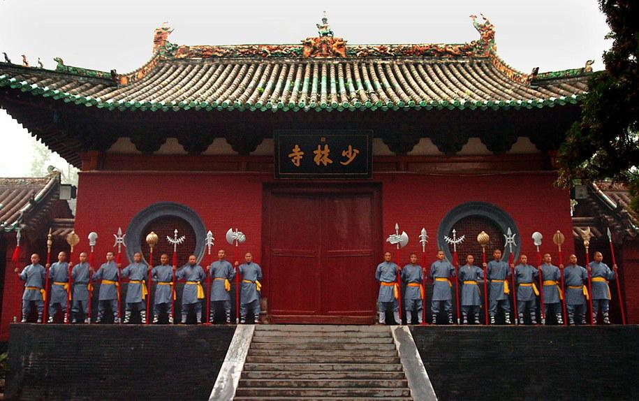 Klasztor Shaolin / Photoshot/Wang Song  /PAP/EPA