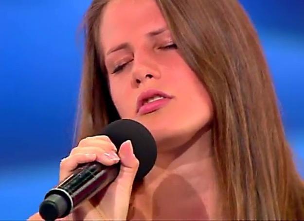 """Klaudia Gawor to jedna z najlepszych śpiewających uczestniczek tej edycji """"Mam talent"""" /TVN"""