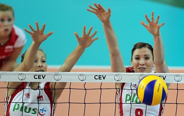 Klaudia Kaczorowska (z prawej) /PAP