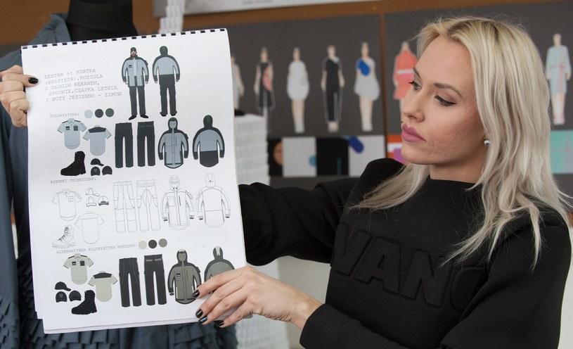 Klaudia Markiewicz jest zwyciężczynią konkursu na nowe mundury dla służby więziennej /East News