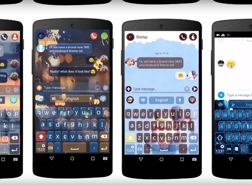 Klawiatura GO Keyboard została pobrana przez ponad 100 milionów użytkowników /materiały prasowe