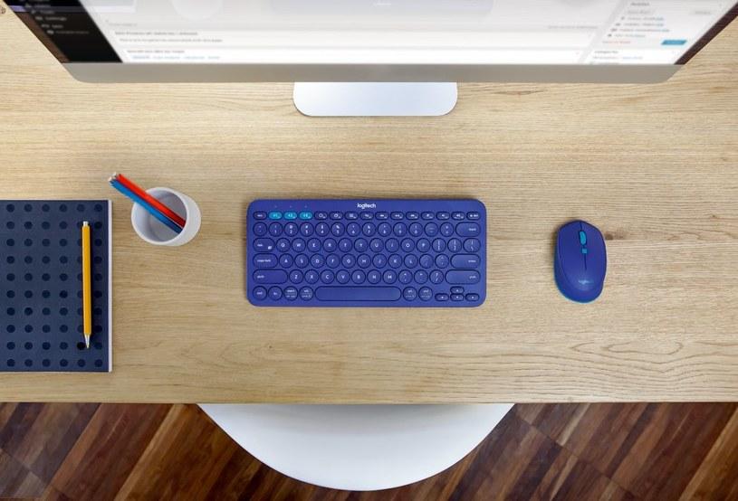 Klawiatura Logitech K380 Multi-Device Bluetooth Keyboard i myszka Logitech M535 Bluetooth Mouse /materiały prasowe