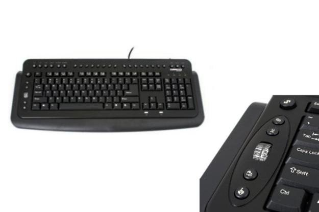 Klawiatura Scorpius - ze specjalnymi przyciskami dla programów biurowych /materiały prasowe