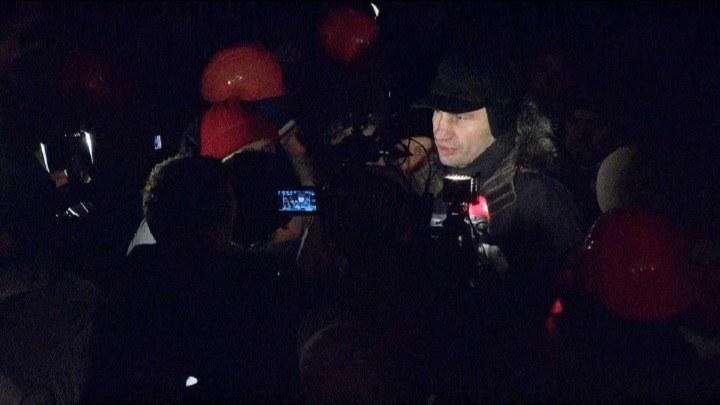 Kliczko uważa, że władze zrobiły najgłupszą rzecz, jaką mogły zrobić /TVN24/x-news