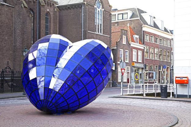 Klimatyczne miasteczko Delft w Holandii /123/RF PICSEL