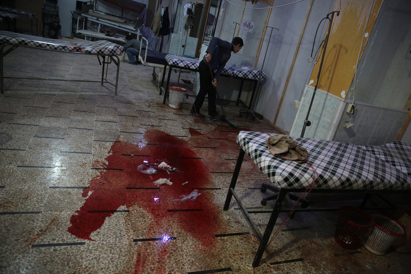 Kliniki nie radzą sobie z napływem rannych /AFP