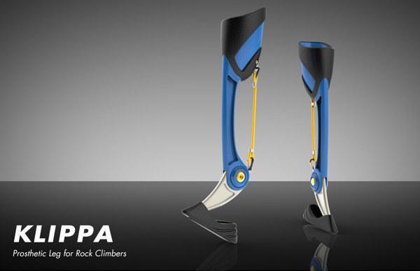 Klippa - innowacyjna proteza do wspinaczki /materiały prasowe