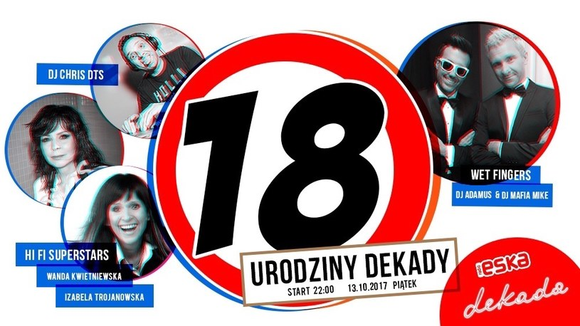 Klub Dekada obchodzi 18 urodziny /materiały prasowe